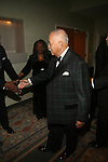 The Hon. David N. Dinkins and Mrs. Dinkins Attend the One Hundred Black Men, Inc. 33rd Annual Benefit Gala Honoring The Hon. David N. Dinkins, Former New York City Mayor and One Hundred Black Men Founder, The Hon. H. Carl McCall, Former New York State Comptroller and Chairman, Board of Trustees, SUNY, Kevin Newell, Executive Vice President and Global Chief Brand Officer, McDonald's Corporation Vivian Pickard, President of GM Foundation, General Motors Corporation, James Reynolds, Jr., Chairman & CEO, Loop Capital Markets Held at New York Marriott Marquis, NY   2/21/13