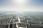 Nederland, Noord-Holland, gemeente Wormerland, 28-10-2016; Polder Wormer, Jisp en Nek met Plas De Marken.<br /> Polders east of Amsterdam with villages.<br /> <br /> luchtfoto (toeslag op standard tarieven);<br /> aerial photo (additional fee required);<br /> copyright foto/photo Siebe Swart