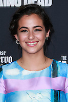 UNIVERSAL CITY, CA, USA - OCTOBER 02: Alanna Masterson arrives at the Los Angeles Premiere Of AMC's 'The Walking Dead' Season 5 held at AMC Universal City Walk on October 2, 2014 in Universal City, California, United States. (Photo by David Acosta/Celebrity Monitor)