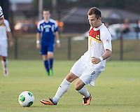 Winthrop University Eagles vs the Brevard College Tornados at Eagle's Field in Rock Hill, SC.  The Eagles beat the Tornados 6-0.  Patrick Barnes (11)