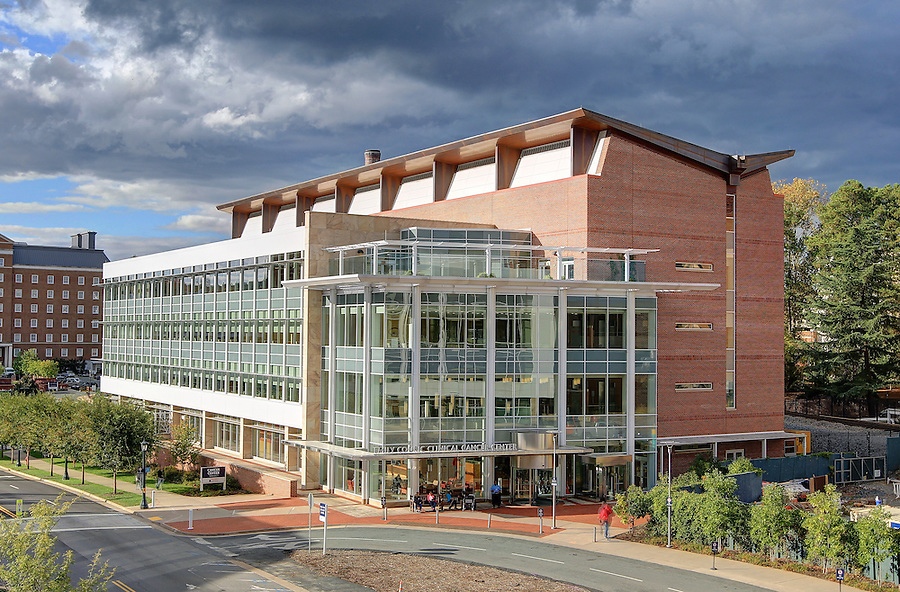 The Emily Couric Cancer Center at the UVa Medical Center at the University of Virginia in Charlottesville, Virginia. Photo/Andrew Shurtleff