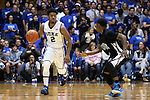 04 November 2014: Duke's Quinn Cook (2). The Duke University Blue Devils hosted the Livingstone College Blue Bears at Cameron Indoor Stadium in Durham, North Carolina in an NCAA Men's Basketball exhibition game. Duke won the game 115-58.