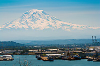 View of Mt. Rainier from Tacoma, WA