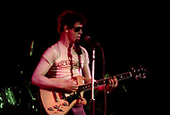 Mont de Marsan, France. August 7th 1977.  Lou Reed performing ar the second edition of the first European Punk Rock Festival at Mont De Marsan.