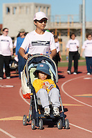 SAN ANTONIO, TX - OCTOBER 28, 2006: The University of Texas at San Antonio Roadrunners Walk for Women's Athletics Fundraiser at the UTSA Convocation Center and UTSA Track. (Photo by Jeff Huehn)