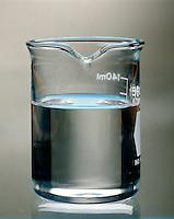 SUPERSATURATED SOLUTION - SODIUM ACETATE IN WATER: 1 of 6<br /> The Solution Becomes Supersaturated<br /> The resulting solution becomes supersaturated when it cools to room temperature