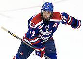 Josh Holmstrom (UML - 12) - The Boston College Eagles defeated the visiting University of Massachusetts Lowell River Hawks 6-3 on Sunday, October 28, 2012, at Kelley Rink in Conte Forum in Chestnut Hill, Massachusetts.