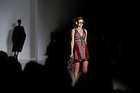 Models display creations by Spain designer Custo Barcelona during the New York Fashion Week 2015 in New York. 15.12.2015. Eduardo Munoz Alvarez/VIEWpress.