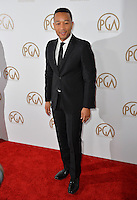 John Legend at the 2017 Producers Guild Awards at The Beverly Hilton Hotel, Beverly Hills, USA 28th January  2017<br /> Picture: Paul Smith/Featureflash/SilverHub 0208 004 5359 sales@silverhubmedia.com