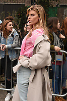 Maryna Linchuk arrives for the Topshop Unique AW17 show as part of London Fashion Week AW17 at Tate Modern, London, UK. <br /> 19 February  2017<br /> Picture: Steve Vas/Featureflash/SilverHub 0208 004 5359 sales@silverhubmedia.com