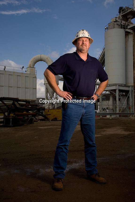 Clay Jones, Austin Bridge &amp; Excavating. Richland, TX<br /> Photo by Chris Covatta