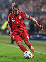 FUSSBALL CHAMPIONS LEAGUE  SAISON 2015/2016  ACHTELFINALE HINSPIEL Juventus Turin - FC Bayern Muenchen             23.02.2016 Douglas Costa (FC Bayern Muenchen)