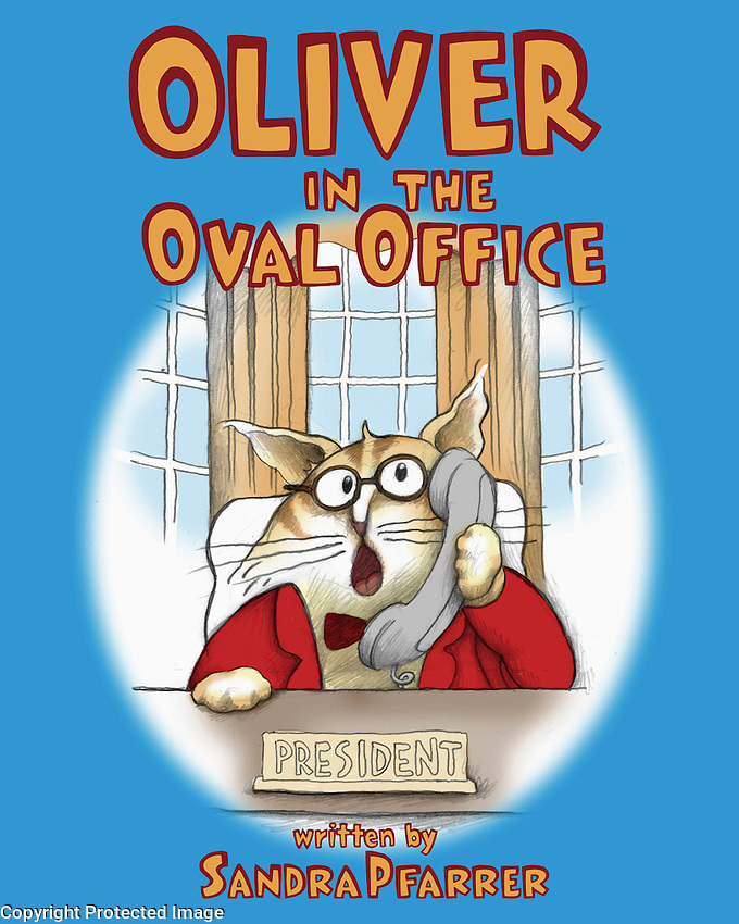 Sandra Pfarrer (Elizabeth Marvel) writes popular children's books… which needed cover art and interior illustrations.