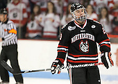 Colton Saucerman (NU - 23) - The visiting Northeastern University Huskies defeated the Boston University Terriers 6-5 on Friday, January 18, 2013, at Agganis Arena in Boston, Massachusetts.