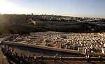 Foreign tourists walk visit the Jerusalem's old city on December 31, 2012. Photo by Mahfouz Abu Turk