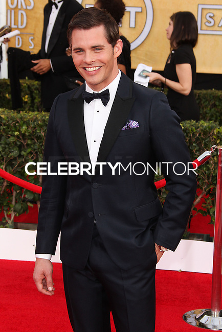 LOS ANGELES, CA - JANUARY 18: James Marsden at the 20th Annual Screen Actors Guild Awards held at The Shrine Auditorium on January 18, 2014 in Los Angeles, California. (Photo by Xavier Collin/Celebrity Monitor)