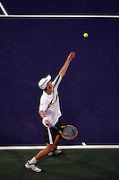 16 March 2007: Andy Murray (GBR) vs Tommy HAAS (GER) on the main court at the 2007 Pacific Life Open Tennis Tournament in Indian Wells, CA.