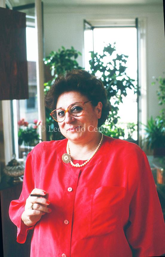 20 feb 2015 - Ultimo giorno di lavoro per il presidente del Tribunale di Milano Livia Pomodoro, che ad aprile andrà in pensione per aver raggiunto i limiti di età. Milano, giugno 1997. © Leonardo Cendamo