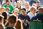 Sep. 1, 2012; People enter Dublin Castle before the Mass of Thanksgiving...Photo by Matt Cashore/University of Notre Dame