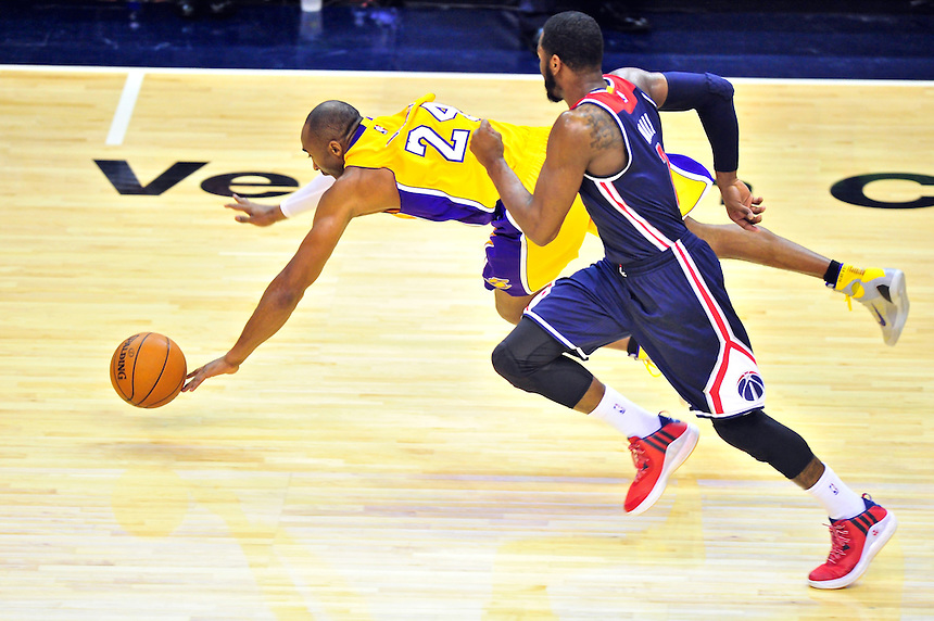 NBA - Los Angeles Lakers  vs. Washington Wizards, December 3, 2014
