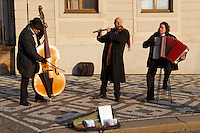 Street Muscians at Prague Castle - Czech Republic