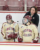 Courtney Kennedy (BC - Assistant Coach) - The Boston College Eagles defeated the visiting University of Maine Black Bears 5 to 1 on Sunday, October 6, 2013, in their Hockey East season opener at Kelley Rink in Conte Forum in Chestnut Hill, Massachusetts.