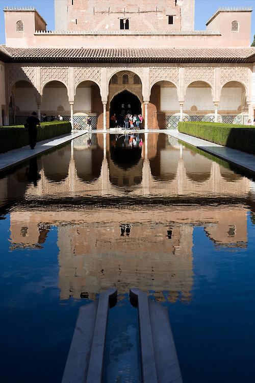 Patio de los Arrayanes, Alhambra, Granada