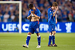 Nacho Novo and Steven Davis gutted at the end
