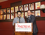 """""""A Press Conference Gone Wrong"""" for """"The Play That Goes Wrong"""""""