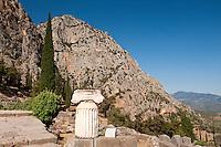 Delphi Archaeological Site, Delphi, Greece