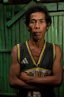 Romeo Roga, who sold his kidney and built a built a house with the money but it got blown apart in a typhoon. He sold the kidney for 90,000 pesos.  In the Basico area more than 3000 have sold their kidneys mostly to foreigners.<br /> <br /> <br /> PHOTO BY RICHARD JONES