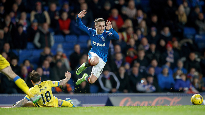 Barrie McKay chopped by Paul Paton