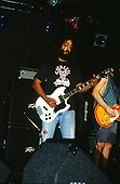 SOUNDGARDEN - Kim Thayil - performing live at The Whisky A-Go-Go in Hollywood, CA USA on December 7, 1989.  Photo credit: Kevin Estrada / Iconicpix