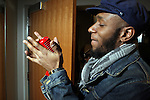 MOS DEF Performs at IMAN Community Cafe held at the Apollo Theater in Harlem, USA on Jan. 23, 2010