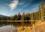 Idaho, Hope.  Darling Lake in the Lightning Creek watershed east of Sandpoint, Idaho
