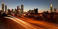 Atlanta Skyline at night