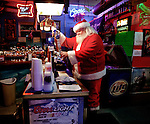 Remember, when give a choice of goodies left out for him on Christmas Eve, Santa preferrs Bud Light.