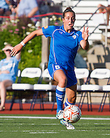 Boston Breakers forward Amanda DaCosta (5).  The Boston Breakers beat the Chicago Red Stars 1-0 at Dilboy Stadium.