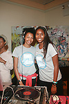 DJ Tyger Lilly and Sports Illustrated Swimsuit Model at Teen Diaries Presents: Project Butterfly New York Hosted by Keri Hilson,  9/24/11