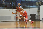 Georgia's Sherrard Brantley (23) is defended by Ole Miss guard Dundrecous Nelson (5) at the C.M. &quot;Tad&quot; Smith Coliseum in Oxford, Miss. on Saturday, January 15, 2011. Georgia won 98-76.  (AP Photo/Oxford Eagle, Bruce Newman)
