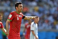 FUSSBALL WM 2014  VORRUNDE    GRUPPE F     Argentinien - Iran                         21.06.2014 Javad Nekounam (Iran)