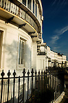 Grade 1 listed mansions in Sussex Gardens, Brighton, East Sussex, England