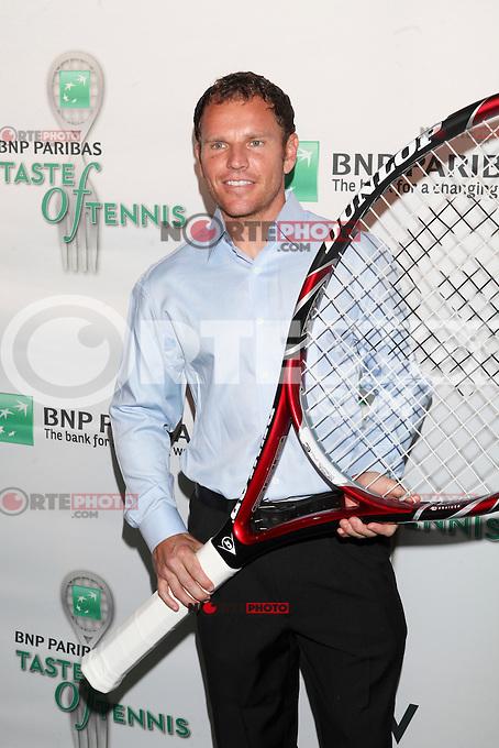 Tennis player Michael Russell attends the 13th Annual 'BNP Paribas Taste of Tennis' at the W New York.  New York City, August 23, 2012. &copy;&nbsp;Diego Corredor/MediaPunch Inc. /NortePhoto.com<br /> <br /> **SOLO*VENTA*EN*MEXICO**<br />  **CREDITO*OBLIGATORIO** *No*Venta*A*Terceros*<br /> *No*Sale*So*third* ***No*Se*Permite*Hacer Archivo***No*Sale*So*third*