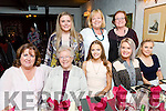 Family Get together from Lohercannon, Tralee enjoying a night out at Cassidy's on Saturday Pictured Front l-r Ashling Behan, Bernadette O'Connell, Day Diggins, Niamh Dobbelaar, Ciara Dobbelaar, Back l-r Shauna Dobbelarr, Kathleen Dobbelarr and Joyce O'Connor