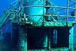 Starboard main deck, USS Kittiwake