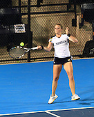 The University of Michigan women's tennis team lost to #7 UCLA, 4-0, in the NCAA Championship Sweet 16 at the Atkins Tennis Center, Champaign, Ill., on May 17, 2013