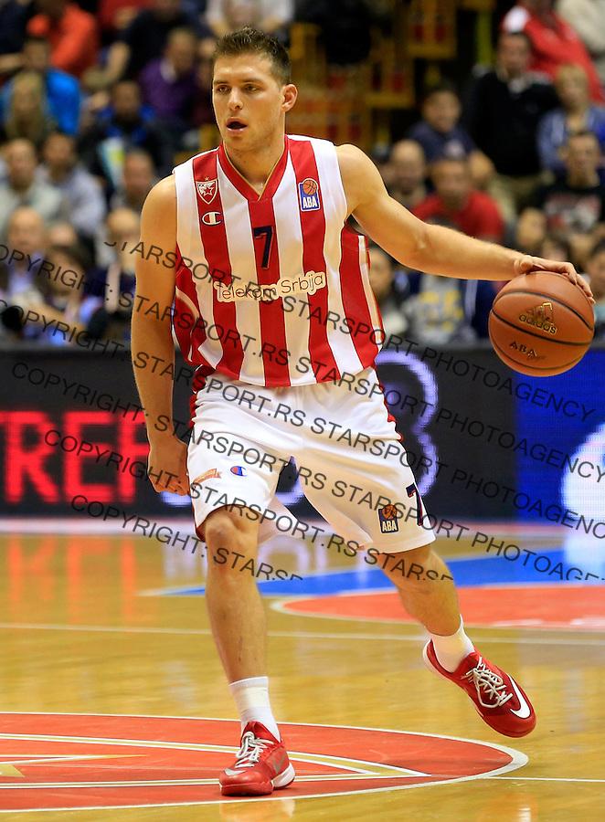 Kosarka ABA League season 2015-2016<br /> Crvena Zvezda v Partizan<br /> Gal Mekel<br /> Beograd, 03.11.2015.<br /> foto: Srdjan Stevanovic/Starsportphoto&copy;