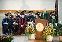William Hopkins, M.D., right. Commencement, class of 2013.