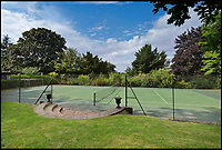 BNPS.co.uk (01202 558833)<br /> Pic: Strutt&amp;Parker/BNPS<br /> <br /> If your tired of the fishing you can always play tennis...<br /> <br /> A river runs through it...Stunning country estate is perfect for anglers with its own river running through its 676 acres.<br /> <br /> Would-be country gents will want to get their hands on this impressive estate which comes with more than a mile of double-bank fishing and an established shoot.<br /> <br /> Baythorne Park is a 'quintessentially English' estate which straddles the River Stour on the Essex/Suffolk border, an area where grand properties like this rarely come on the market.<br /> <br /> But buyers will need a hefty bank balance to buy the &pound;11million residence, which is for sale with Strutt &amp; Parker.<br /> <br /> The 676-acre site includes a Grade II listed mansion, gardens with a tennis court and swimming pool, farm buildings and pasture, parkland and woodland.