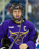 Rylan Galiardi (Mankato - 12) - The visiting Minnesota State University-Mankato Mavericks defeated the University of Massachusetts-Lowell River Hawks 3-2 on Saturday, November 27, 2010, at Tsongas Arena in Lowell, Massachusetts.